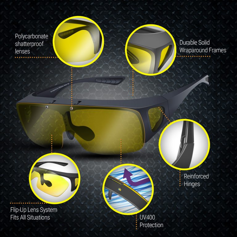 Day and Night Driving Glasses - Features