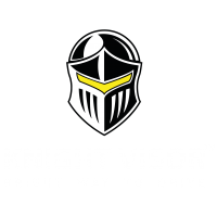Knight Visor BLUPOND Logo Official
